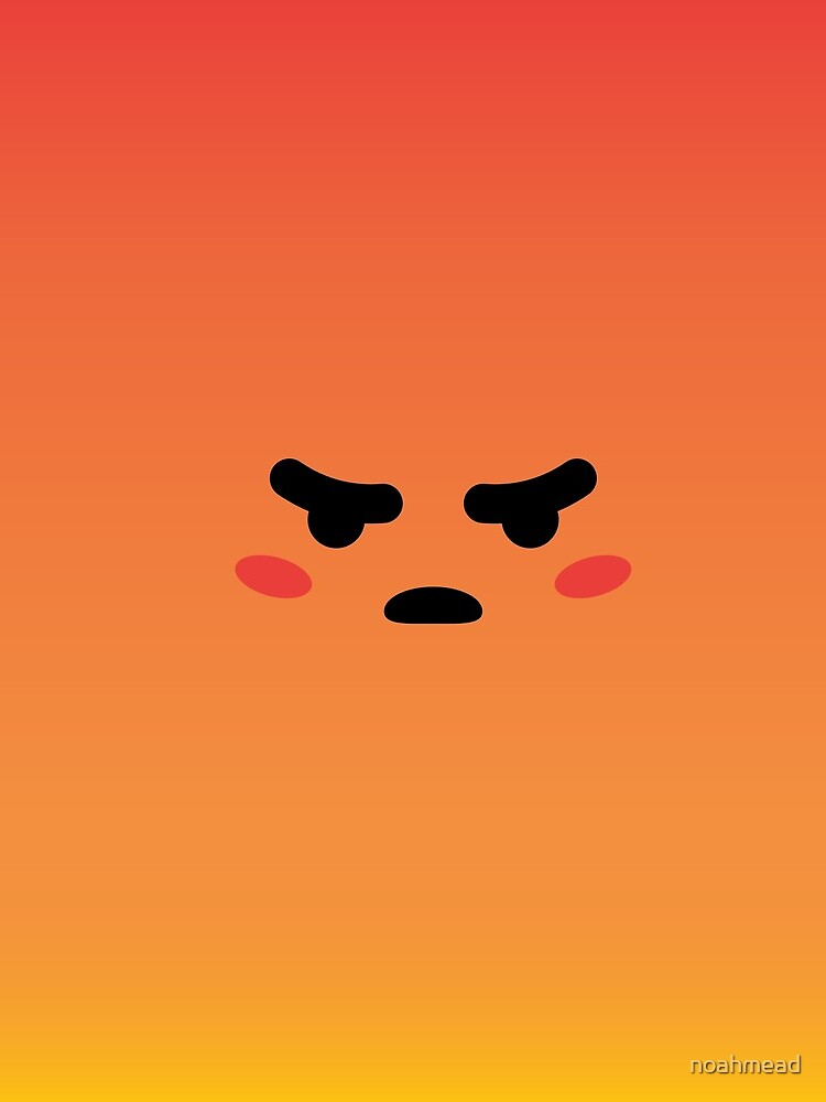 Angry React Kirby von noahmead