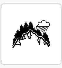 Rainy Mountain Sticker