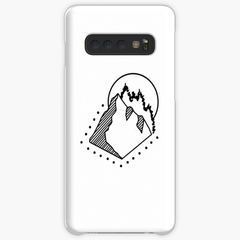 Dotted Mountain Case & Skin for Samsung Galaxy