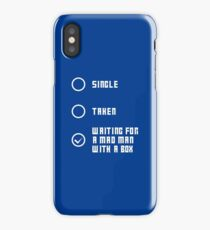 Mad Man with a Box - Light iPhone Case/Skin