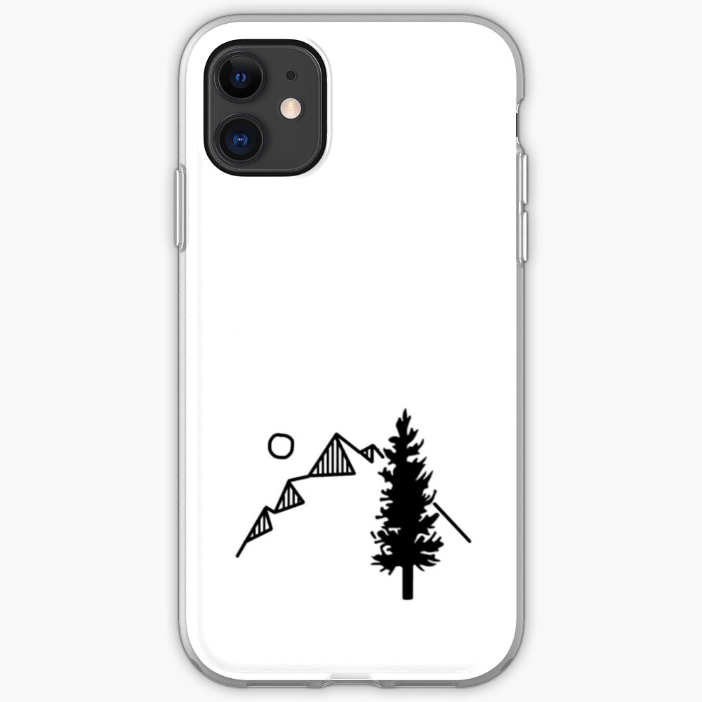 Tree Mountain iPhone Case & Cover