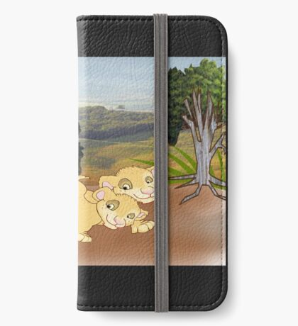 Wild :-On the look Out for Mum (2067 Views) iPhone Wallet