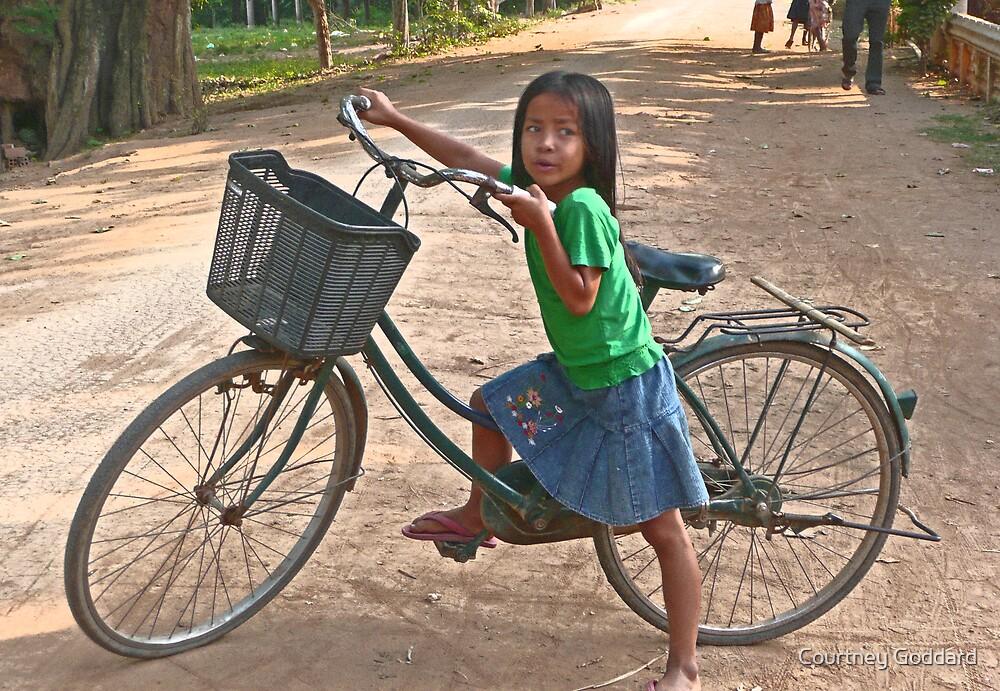 Her First Bike by Courtney Goddard