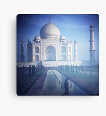 Plastic Taj Canvas Print