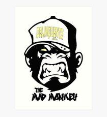 Gangster - Thug - Monkey Cartoon - Delinquent Nato Art Print