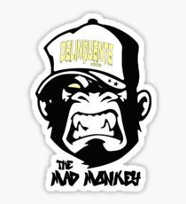 Gangster - Thug - Monkey Cartoon - Delinquent Nato Sticker