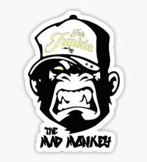 Ink Junkie - Tattoo Art - Monkey Cartoon Sticker