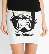 Ink Junkie - Tattoo Art - Monkey Cartoon Mini Skirt
