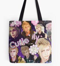 Final Fantasy XV Prompto Collage Tote Bag