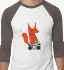 music fox Men's Baseball ¾ T-Shirt