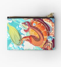 Mermaid and Turtle Zipper Pouch