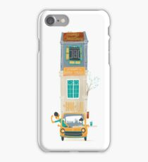 Tall Car with Tiny House iPhone Case/Skin