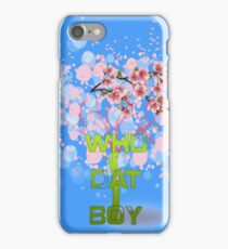 Who Dat Boy iPhone Case/Skin