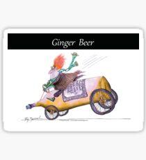 Ginger Beer by Tony Fernandes Sticker