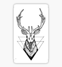 Dot Deer Sticker
