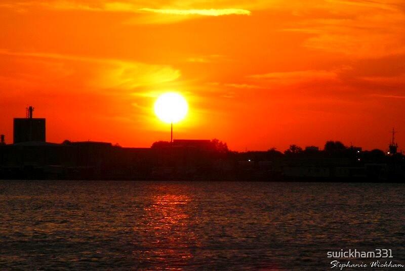 Sunset over Downtown Jacksonville, FL by swickham331