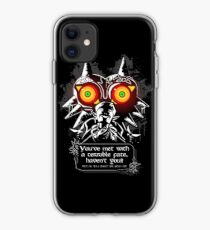 Majoras Mask - Meeting With a Terrible Fate iPhone Case