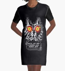 Majoras Mask - Meeting With a Terrible Fate Graphic T-Shirt Dress