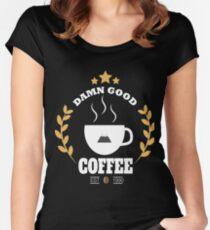 Twin Peaks Damn Good Coffee Women's Fitted Scoop T-Shirt
