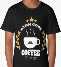 Twin Peaks Damn Good Coffee Long T-Shirt