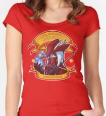 Adept, Charismatic Red Mage Women's Fitted Scoop T-Shirt