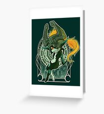 Midna's Mirror Greeting Card