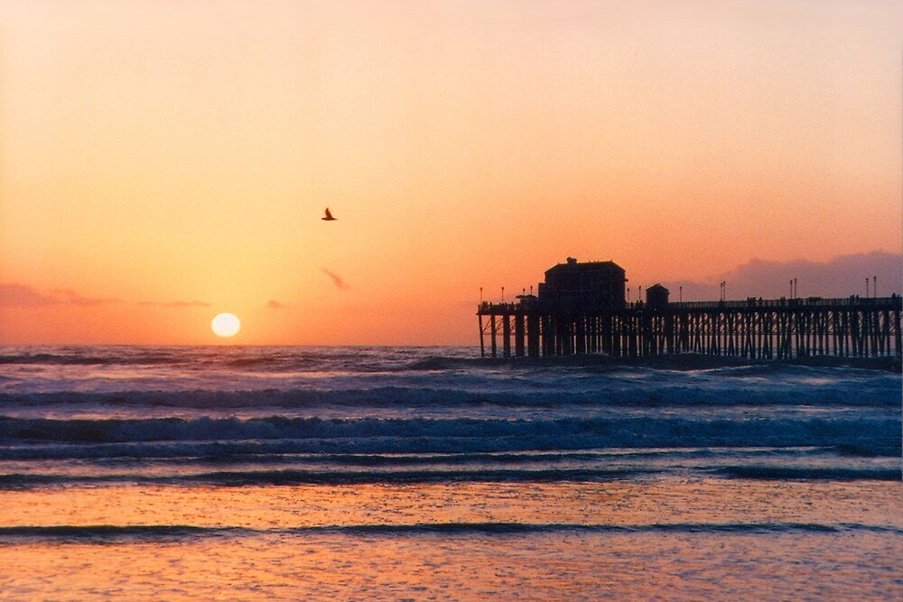 California Sunset by Ken Fortie