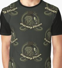 Charming Cthulhu Graphic T-Shirt