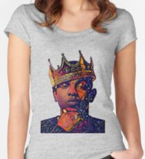 Abstract Kendrick Women's Fitted Scoop T-Shirt