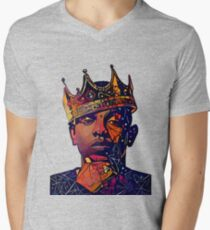 Abstract Kendrick Men's V-Neck T-Shirt