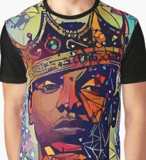 Kendrick abstrait T-shirt graphique