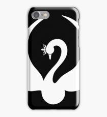 Swan Queen Black + White iPhone Case/Skin
