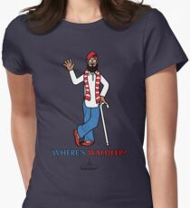Wheres Waldeep? Womens Fitted T-Shirt