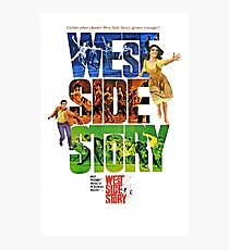 West Side Story movie poster Photographic Print