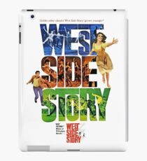 West Side Story movie poster iPad Case/Skin