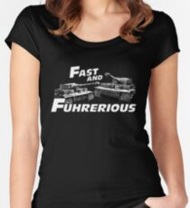 Fast and Führerious Women's Fitted Scoop T-Shirt