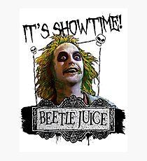 Beetlejuice - It's Showtime Photographic Print