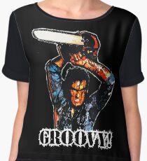 Evil Dead Ash - Groovy! Women's Chiffon Top