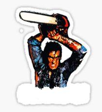 Evil Dead Ash - Groovy! Sticker