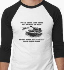Tiger tank lullaby Men's Baseball ¾ T-Shirt