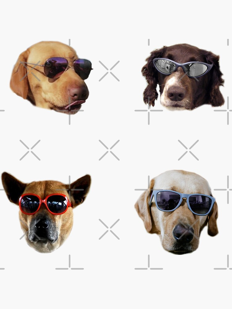 Pegatinas Doggo: Gafas De Sol # 2 de Elisecv