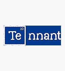 Tennant, the 10th Element Photographic Print