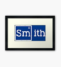 Smith, the 11th Element Framed Print
