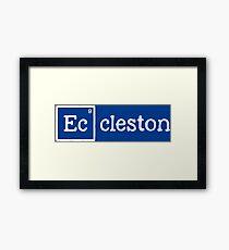 Eccleston, the 9th Element Framed Print