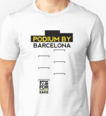 FF1S: Podium By Barcelona Slim Fit T-Shirt
