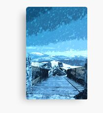Rage of the Winter Canvas Print