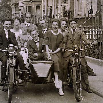Family and friends - London 1920s by flosmith