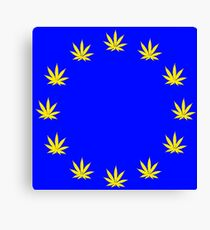 Hemp Union Canvas Print