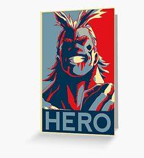 My Hero Academia - HERO!! Greeting Card