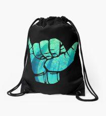 Shaka Design Drawstring Bag